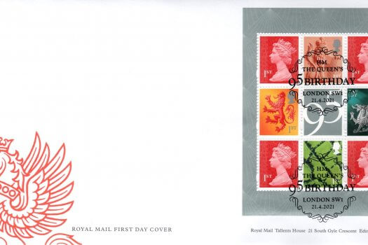 Royal Mail Queen's 95th Birthday FDC