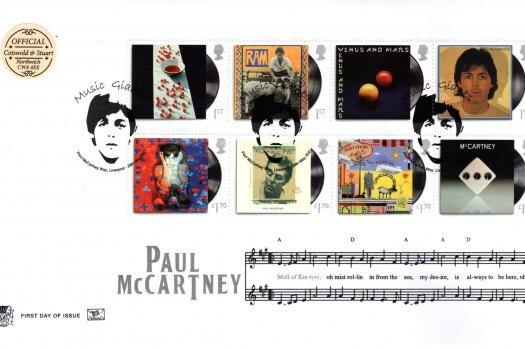Stuart Official Paul McCartney FDC
