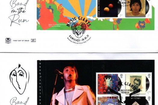 Stuart Paul McCartney PSB FDC image 1