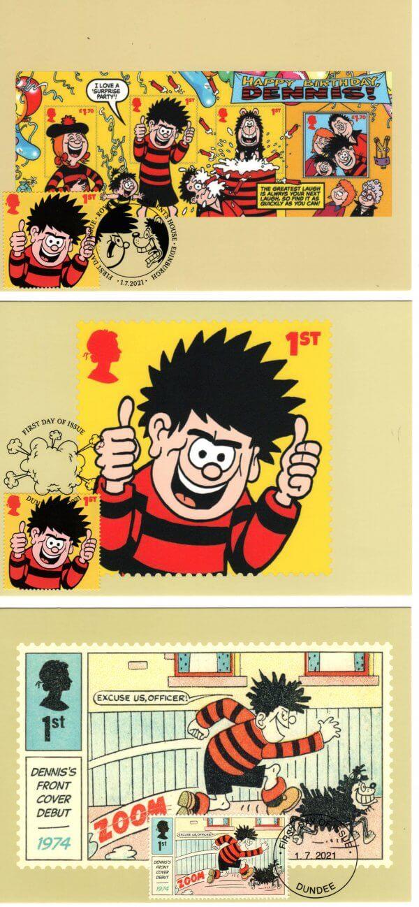 Dennis-_-Gnasher-Stamp-Cards-image-1