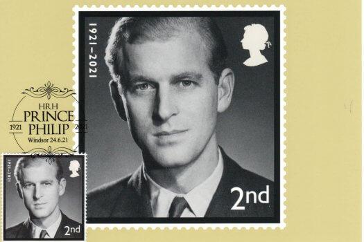 HRH-Prince-Philip-In-Memoriam-Stamp-Cards-image-1