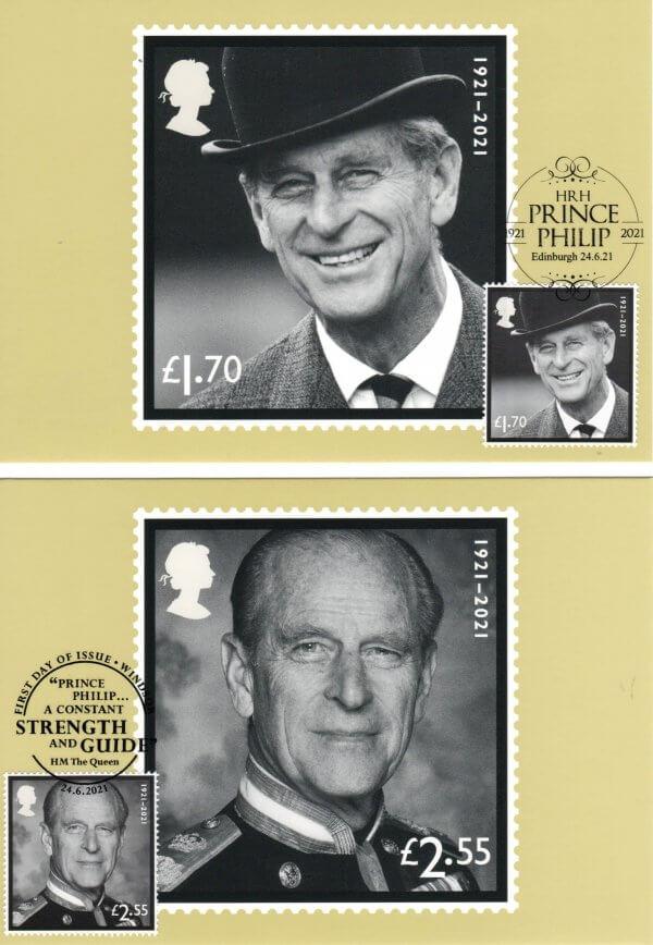 HRH-Prince-Philip-In-Memoriam-Stamp-Cards-image-2