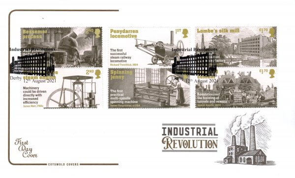 Cotswold Industrial Revolution FDC