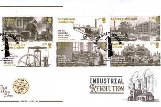 Cotswold Industrial Revolution Official FDC