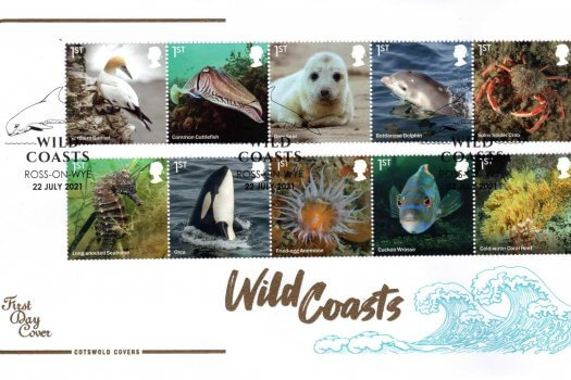 Cotswold Wild Coasts FDC