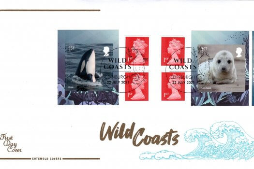 Cotswold Wild Coasts Retail Booklet FDC