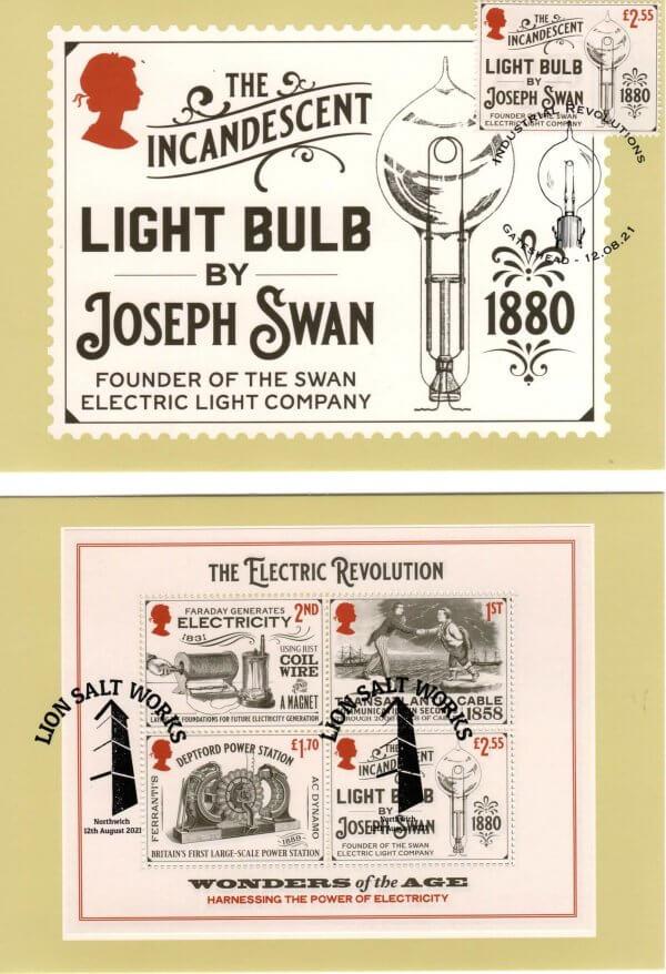 Industrial Revolution Stamp Cards image 4