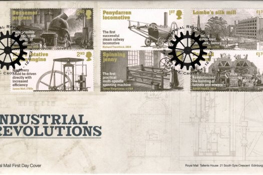 Royal Mail Industrial Revolution FDC