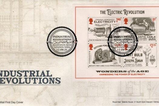 Royal Mail Industrial Revolution Minisheet FDC