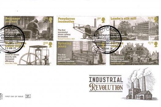 Stuart Industrial Revolution FDC