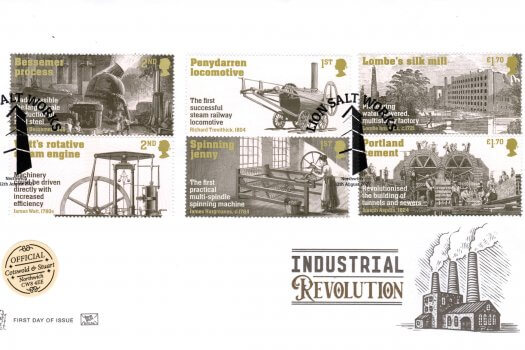 Stuart Industrial Revolution Official FDC