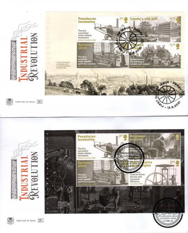 Stuart Industrial Revolution PSB FDC image 1
