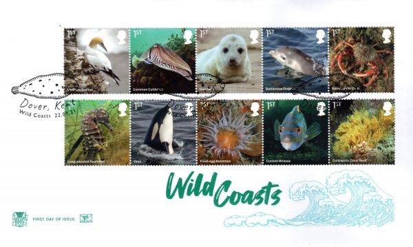 Stuart Wild Coasts FDC