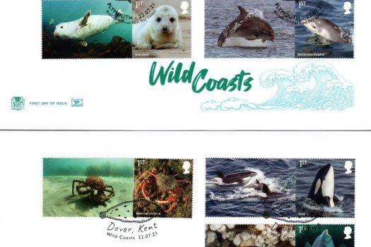 Stuart Wild Coasts Generic Sheet FDC image 1