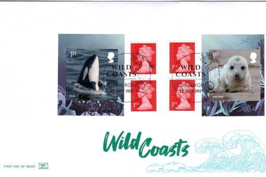 Stuart Wild Coasts Retail Booklet FDC