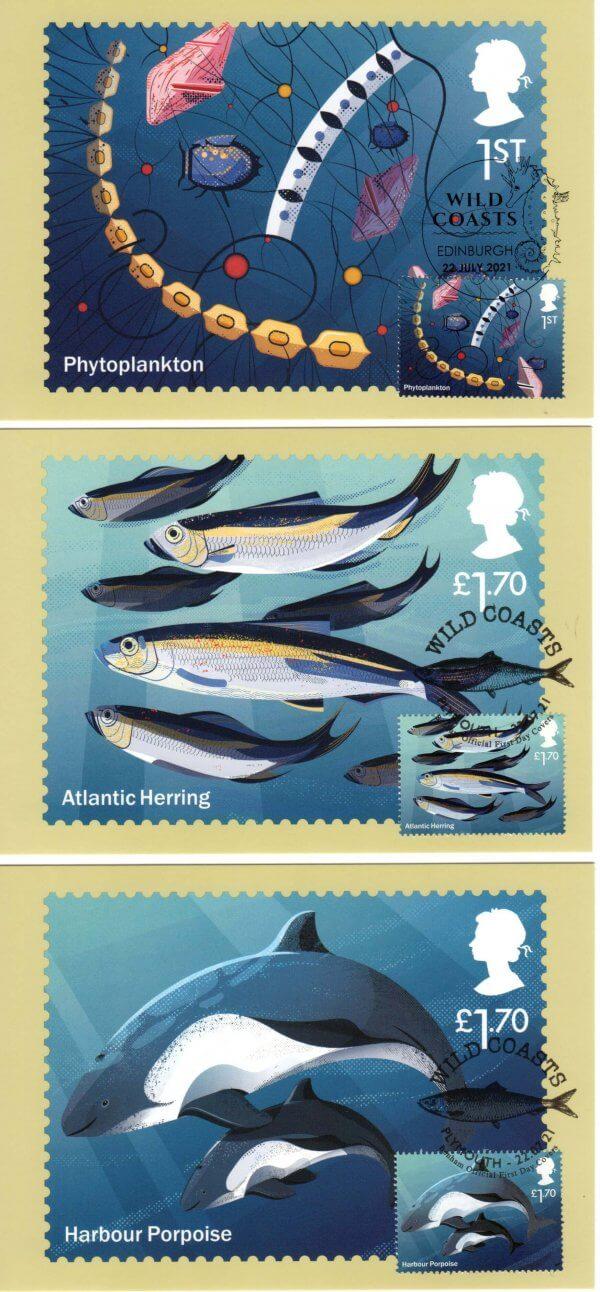Wild Coasts Stamp Cards image 5